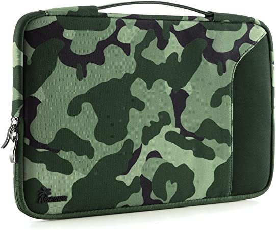 Gao808yuniqi Abstract Glowing Pattern Seamless Laptop Sleeve Shoulder Bag for Women Protective Carrying Case Compatible with 13-15 Inch MacBook Pro Notebook,Slim Sleeve Air