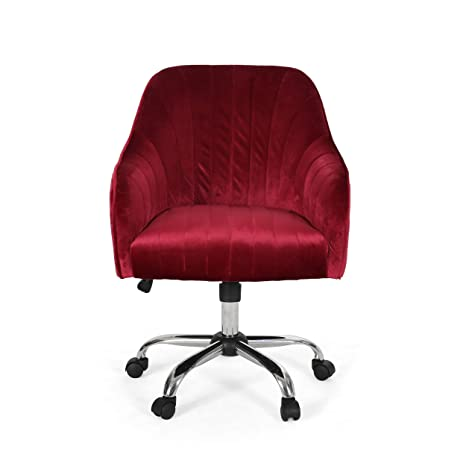 Astounding Amazon Com Cassandra Glam Velvet Home Office Chair With Theyellowbook Wood Chair Design Ideas Theyellowbookinfo
