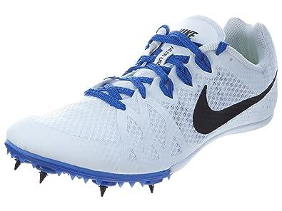 adbfe3cc11b32 Nike Women s Zoom Rival M 8 Indoor Court Shoes White Black Blue (White