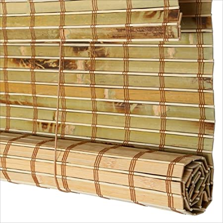 Wufeng Bamboo Roller Blind Shading Waterproof Mildew Proof Cut Off