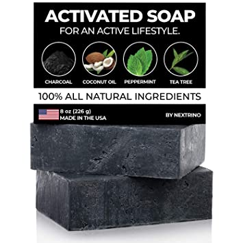 Organic Ingredients #1 Best Seller! Detox Charcoal Soap Handcrafted In Usa
