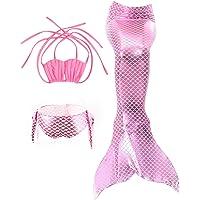 Le SSara Meisjes Zeemeid Badmode Zeemeermin Shell Badpak 3 stks Bikini Sets