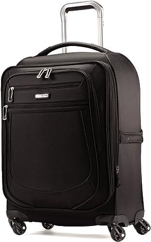 Samsonite Mightlight 2 21 Nylon Spinner, Wheeled Carry On Luggage in Black