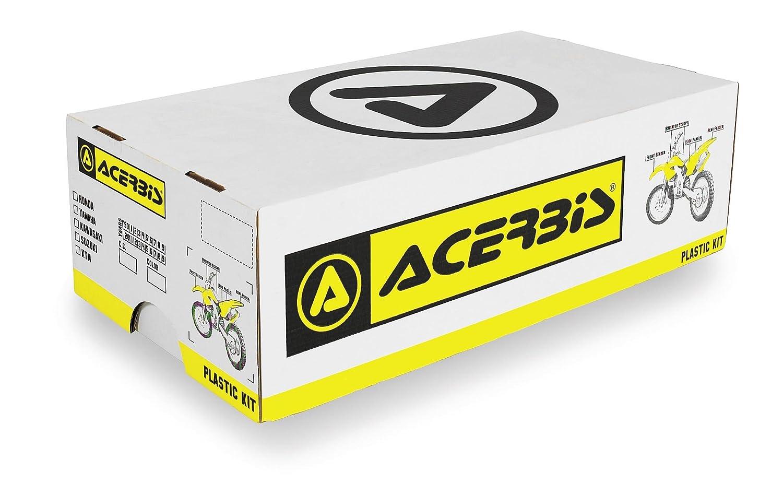 Acerbis Plastic Kit Black Kawasaki KX250F 2006-2008 0009110.090 1581-1005