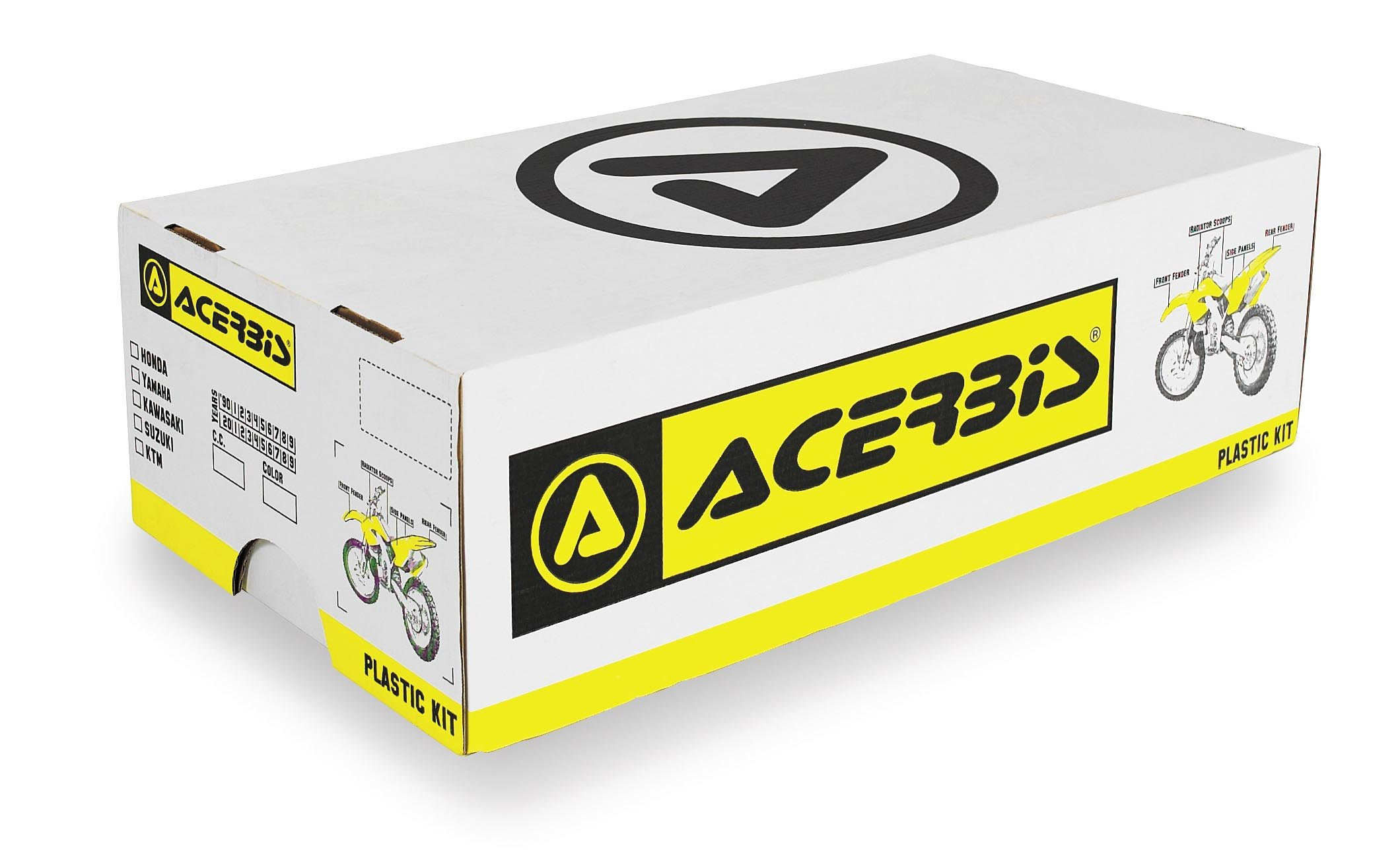 Acerbis 2198050001 Plastic Kit, (Pack of 9)