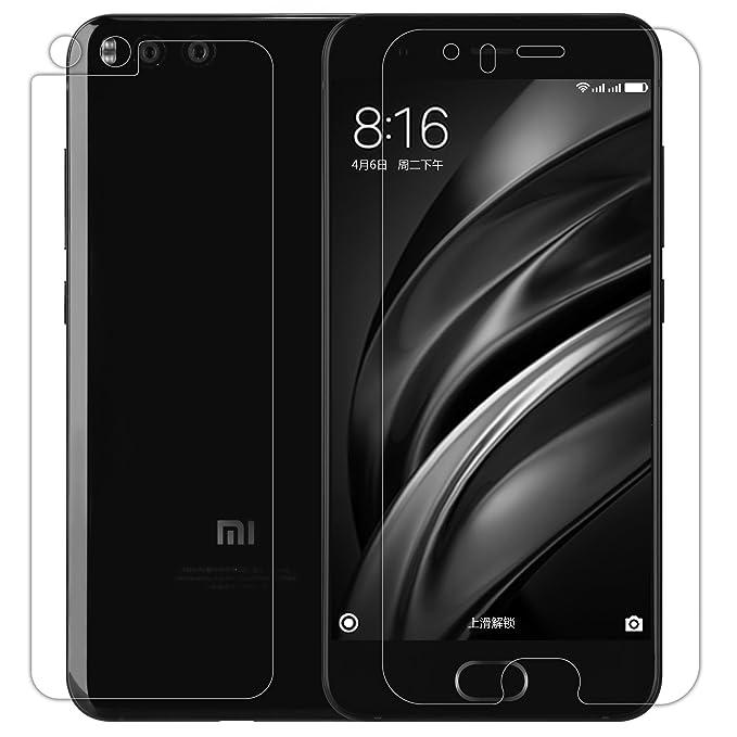 Nillkin Protector de Pantalla Xiaomi Mi6, Protector de Pantalla de Prima de Cristal Templado Protector Alta Definicion(HD), 9H Dureza,0.33mm Cristal ...