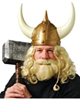 One Viking Wig & Beard Set