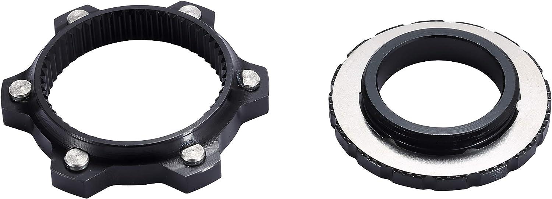 wileosix Aluminum Disc Brake Rotor Center-Lock Adapter for 15//20mm Thru-Axle Hub,fit 6 Rotors