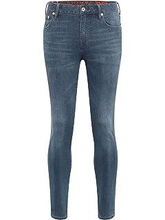 SUPERDRY Jeggings Alexia graphite Damen Jeans Hose grau Mädchen jeanshose