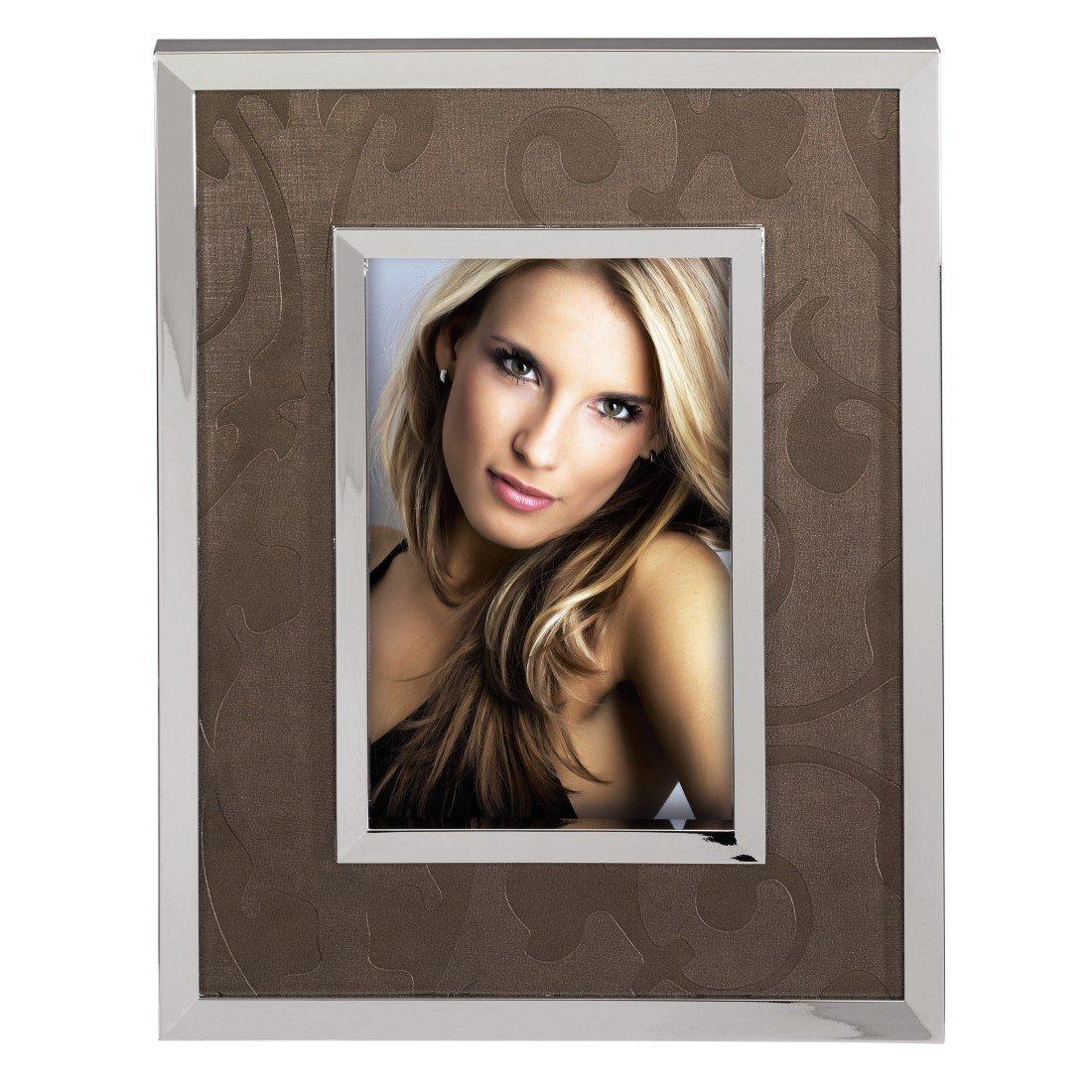Argento Cornice per foto singola 10 x 15 cm Marrone Hama Lyon
