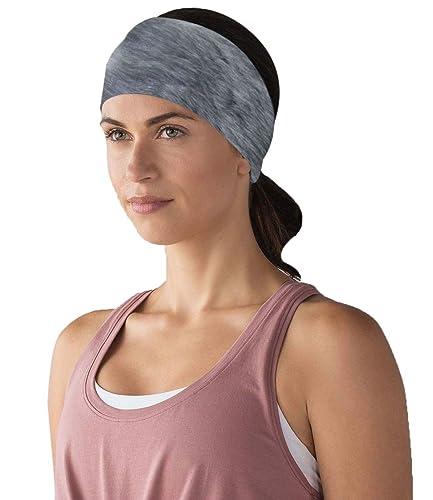 Señoras nuevas mujeres diadema de piel sintética de pelo liso headwrap oído caliente chica invierno
