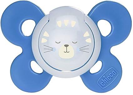 Chicco Physio Comfort - Chupete de silicona para 16 - 36 meses, colores surtidos