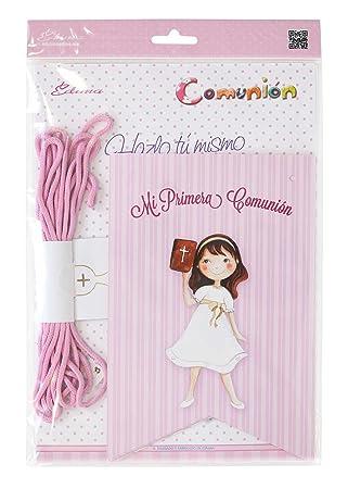 Edima - Bolsa con banderines Mi Primera Comunión DIY (465906-B)