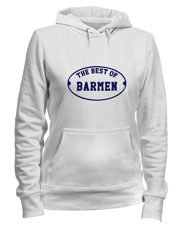 Speed Shirt Felpa Donna Cappuccio Bianca BEER0287 The Best of BARMEN