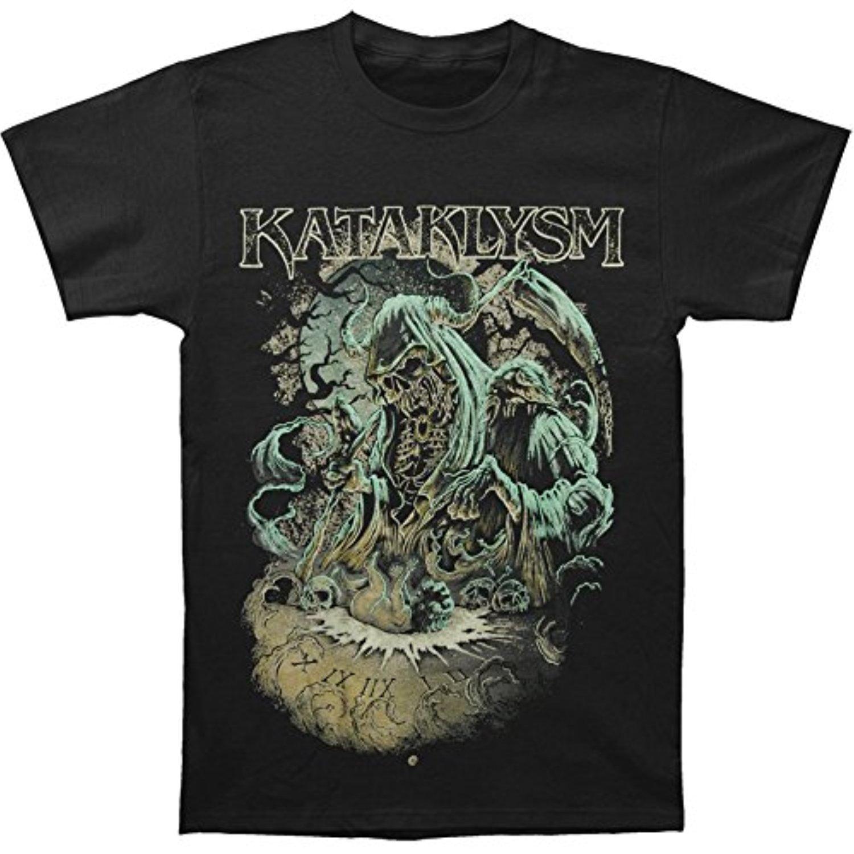 JJlinge Kataklysm Men39;s Reaper Symbol T-Shirt Black