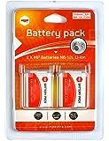 2 x batterie NB-12L NB12L pour CANON - 1950 mAh - PowerShot N100 - PowerShot G1X Mark II - Legria Mini X - Vixia Mini X - MP EXTRA®