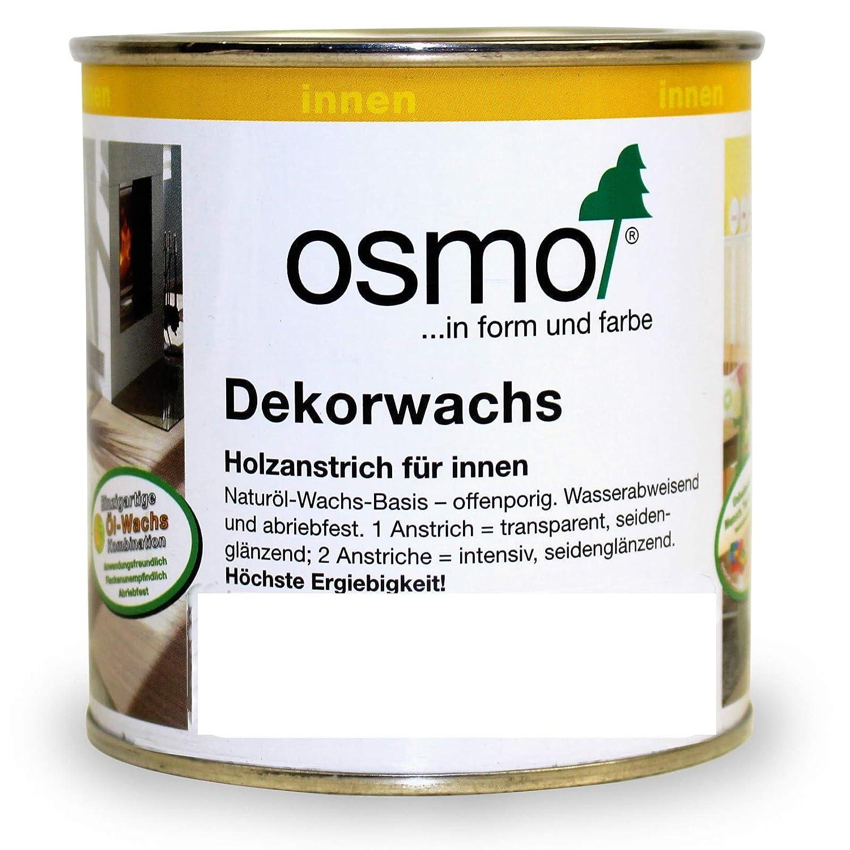 OSMO Dekorwachs Transparent High Solid 750ml Granitgrau 3118