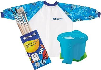 Pelikan Bata para pintura con velcro de cierre y bolsa de transporte, para niñ