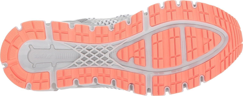 ASICS Women's Gel-Quantum 360 cm Running Shoe B078BBJPMH 12 B(M) US|Knit Mid Grey/Glacier/Coral