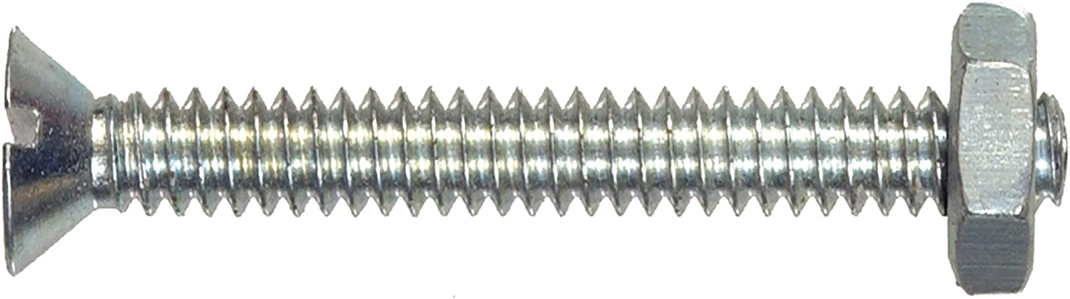 The Hillman Group The Hillman Group 4077 10-24 x 2 In Stainless Steel Flat Head Phillips Machine Screw 20-Pack