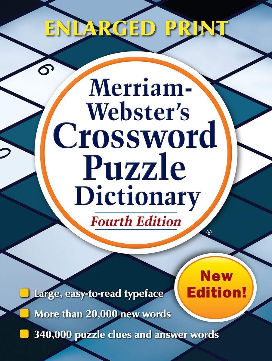 Merriam Webster's Crossword Puzzle Dictionary  Merriam Webster ...