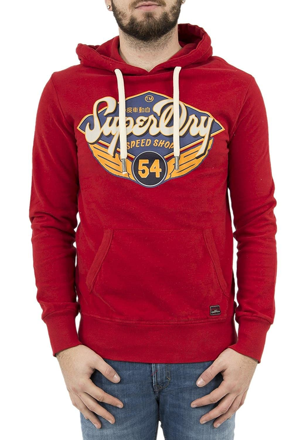 Superdry Hooded M20008HQ OEI REAL Trade Mark L