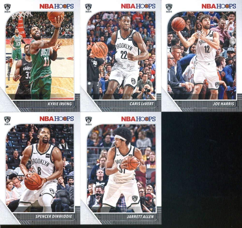 Caris LeVert Joe Harris DeMarre Carroll DAngelo Russell Allen Crabbe ASSORTED Basketball Trading Card and Wristbands Bundle Jarrett Allen Brooklyn Nets Basketball Cards: Spencer Dinwiddie
