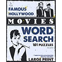 Famous Hollywood Movies Word Search Puzzles: Based on Popular Blockbusters from Film and Cinema
