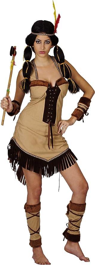 Disfraz de india de lujo para mujer: Amazon.es: Juguetes y juegos