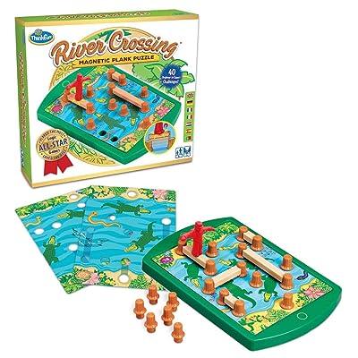 Ravensburger 76349 ThinkFun River Crossing Parte: Juguetes y juegos