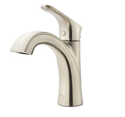 Pfister Weller LG42-WR0K Single Control Bath Faucet, in Brushed ...