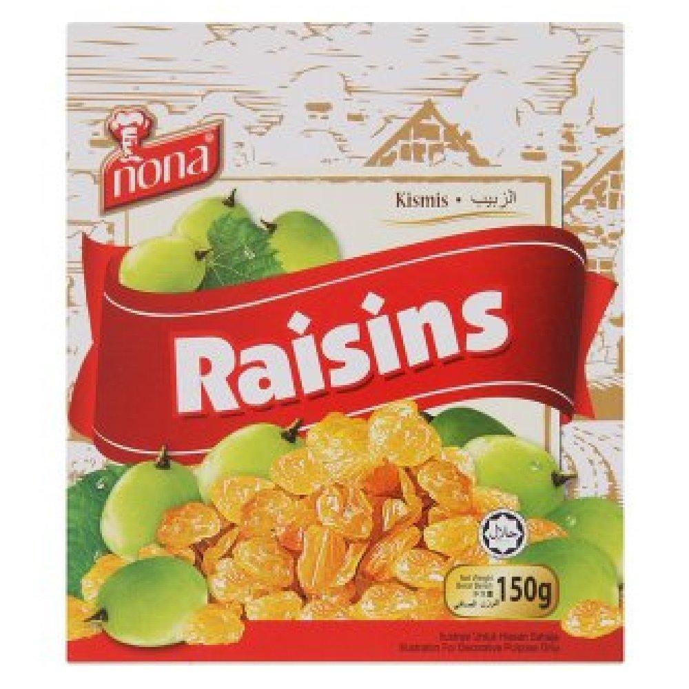 Nona Raisins 150g (628MART) (1 Pack)