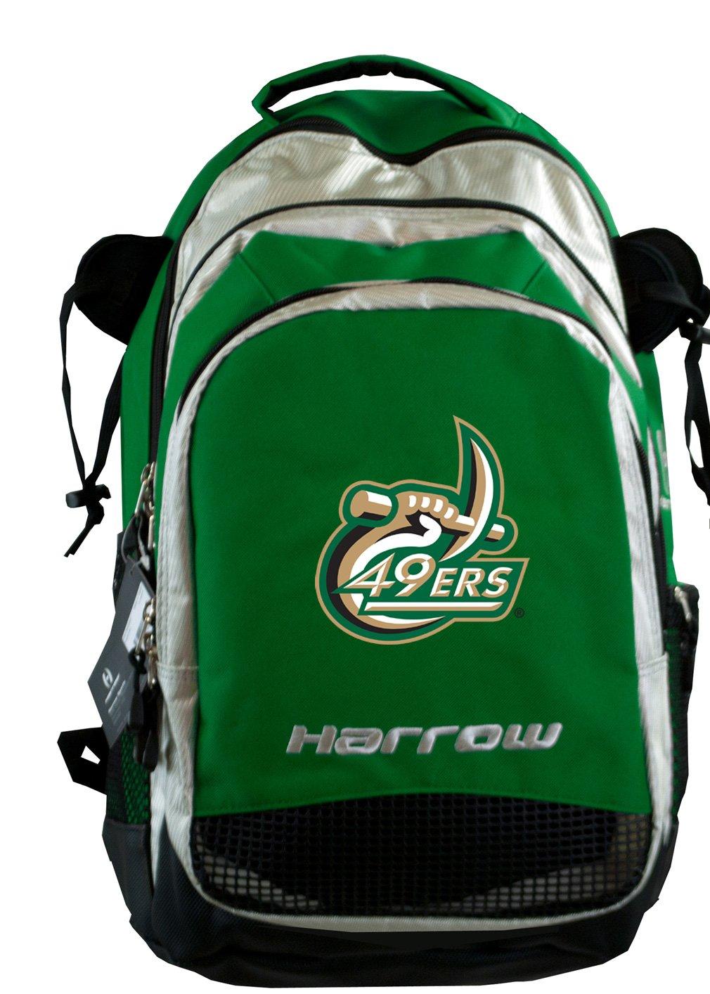 Broad Bay UNCC UNC Charlotte Field Hockey Bag Or University of North Carolina Charlotte LAX Bag HARROW Green