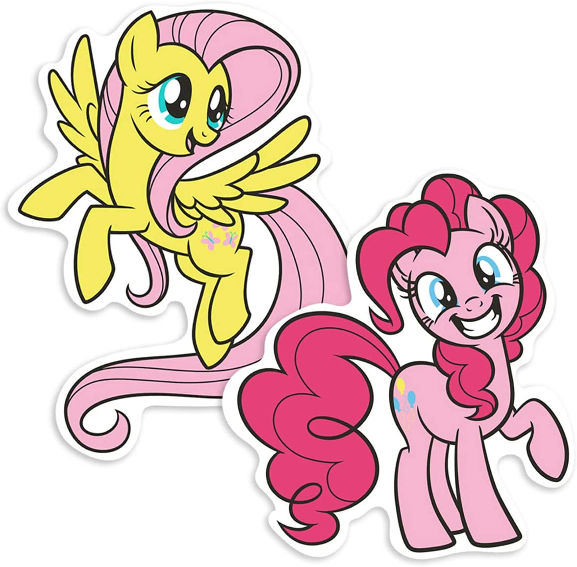 Popfunk My Little Pony Fluttershy and Pinkie Pie Collectible Stickers