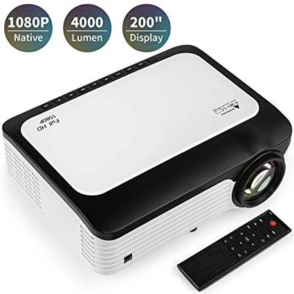 Amazon.com: BRILENS Native 1080P Proyector LED de 4000 ...