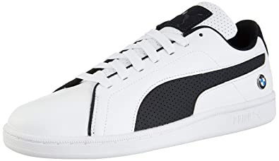 cb7ac04d Puma Men's BMW MMS Court Perf White Leather Sneakers-10 UK/India ...