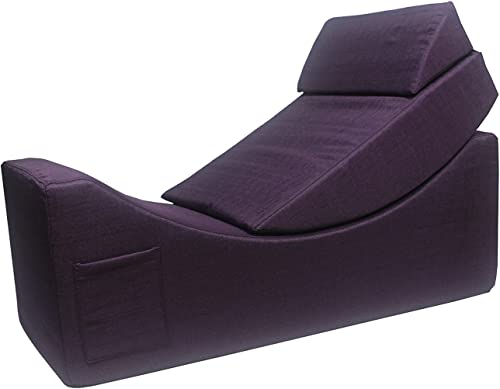 Iconic Home Enzyme Faux Linen Upholstered Convertible Loungie Bench