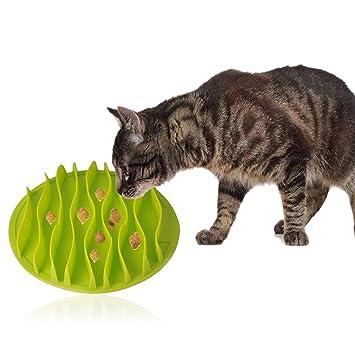 OFKPO Cuenco Comer Lento para Perros, Comedero para Mascotas Perro Gato: Amazon.es: Electrónica