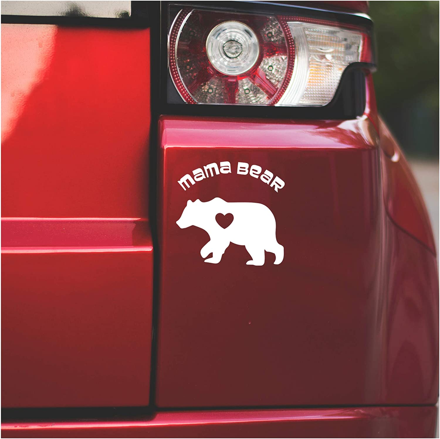 Underground Printing Mama Bear - Mother's Day Family Nature Vinyl Decal Sticker | 5