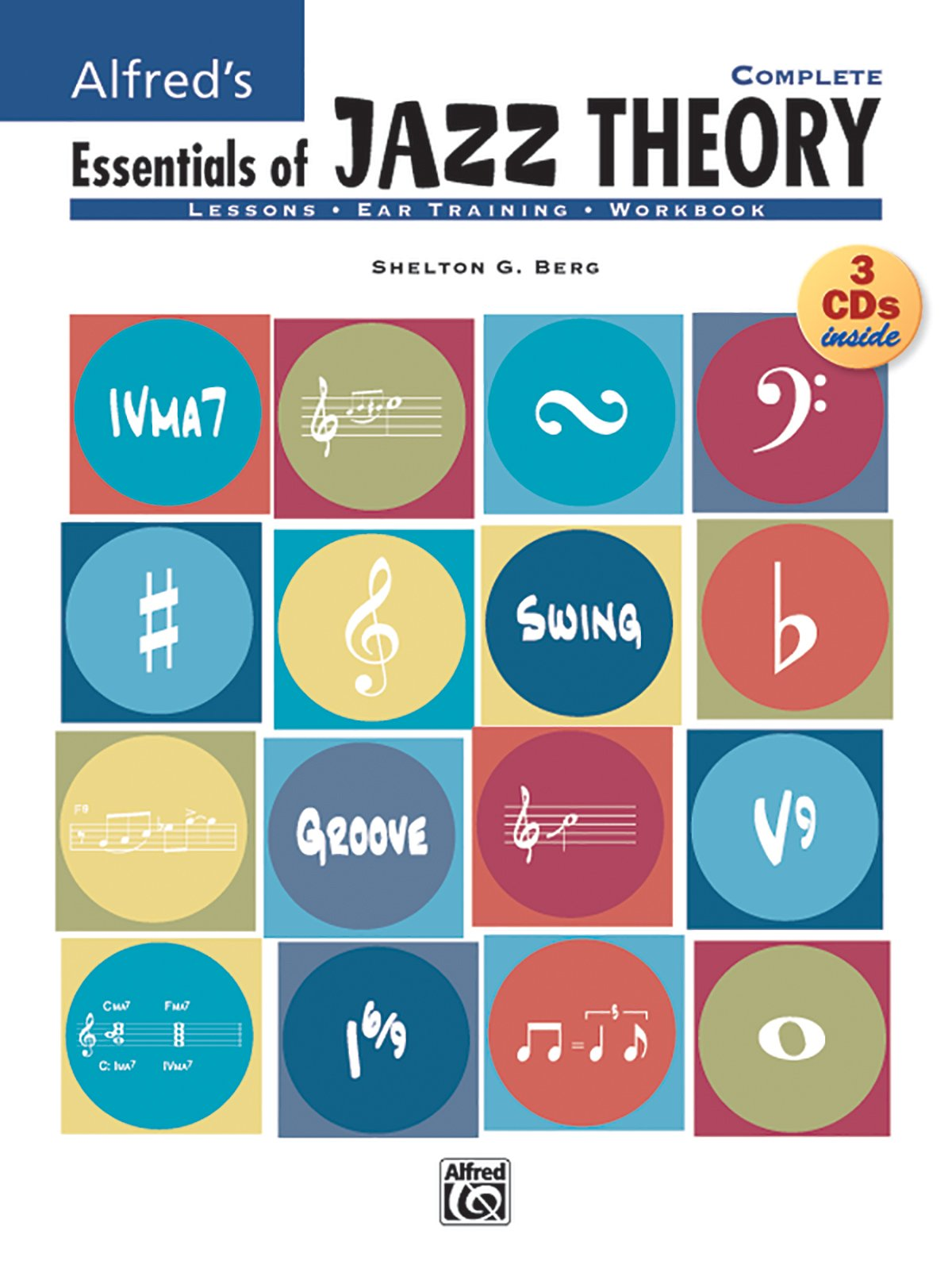 Alfred's Essentials of Jazz Theory, Complete 1-3: Book & 3 CDs ...