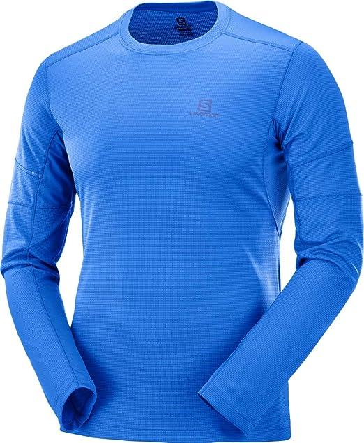 16bf71c90aa6 SALOMON Agile LS Tee, Shirt Uomo: Amazon.it: Abbigliamento