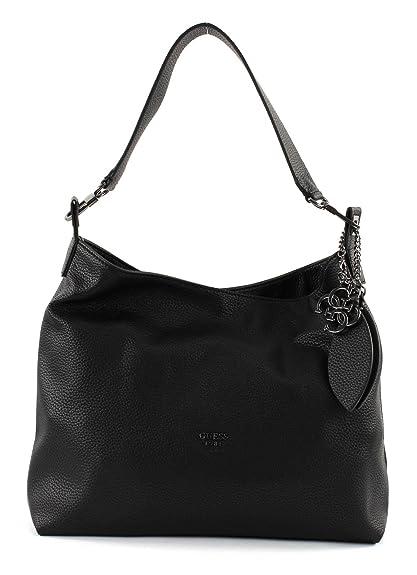 f281cfd447 GUESS Lou Hobo Black  Amazon.co.uk  Shoes   Bags