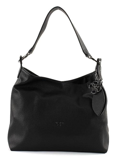 selezione migliore f4da5 65bb3 GUESS Lou Hobo Black: Amazon.it: Scarpe e borse