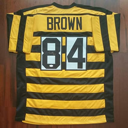 6ecdbb9ce Image Unavailable. Image not available for. Color  Antonio Brown  Autographed Signed Jersey Pittsburgh Steelers JSA