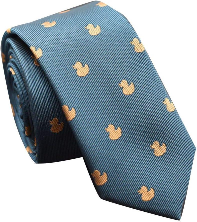 Jinzuke Disegno del Fumetto di Festa del Partito degli Uomini Casuali Cravatte di Seta del Poliestere Tipo Stretto Ragazzi Cravatta Accessori