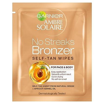 Garnier ambre solairer - Toallitas autobronceadora - pack de 30