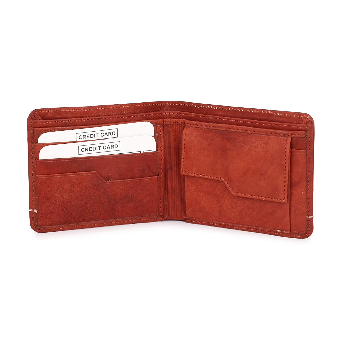 Carry Me Classic Cherry Leather Mens Wallet
