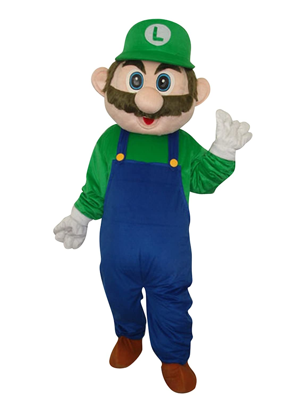 Happy Shop EU Luigi de Super Mario - Disfraz de Halloween para ...