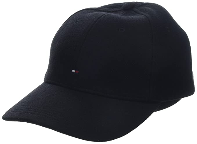 d1d3fafb Image Unavailable. Image not available for. Colour: Tommy Hilfiger Men's Bb  Melton Cap Baseball ...