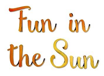amazon letter2word fun in the sun デザイン小物 オンライン通販